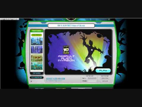 Ben 10 Alien Force Game Creator Play Online | gamewithplay.com