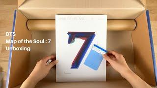 Baixar BTS Map of the Soul: 7 Album Unboxing