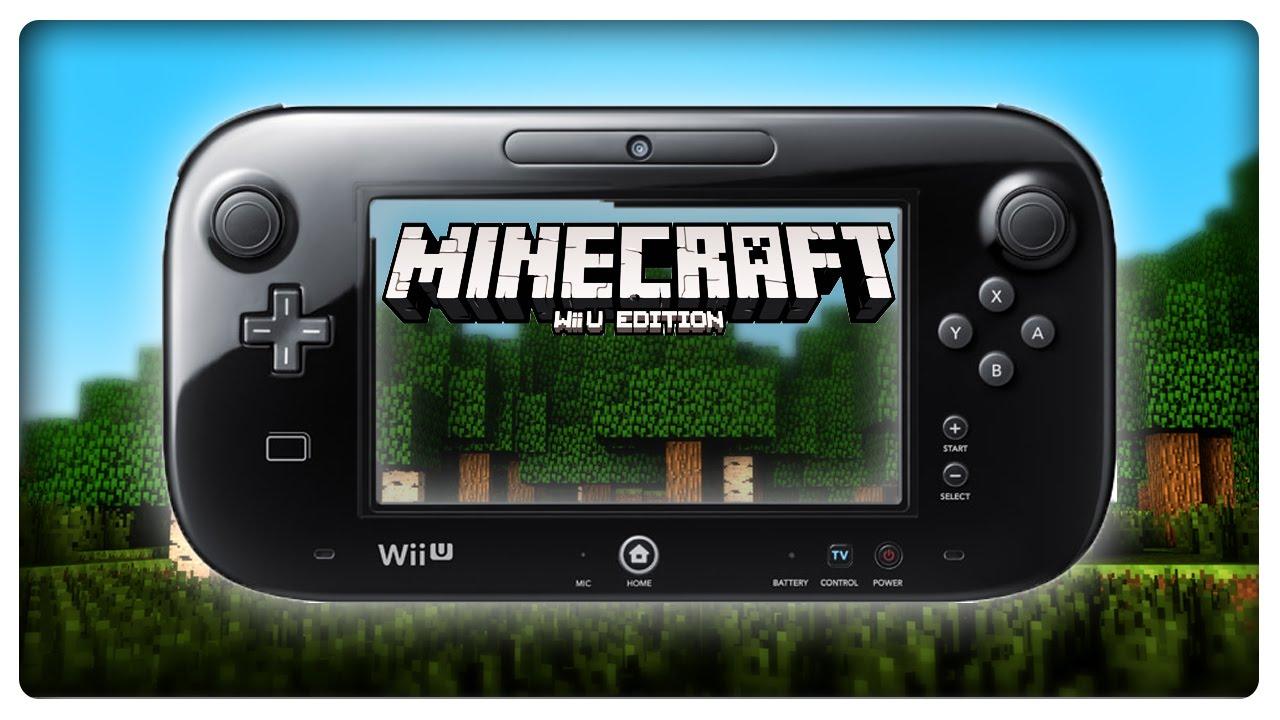 Lets Show MINECRAFT WII U EDITION YouTube - Minecraft wii u namen andern