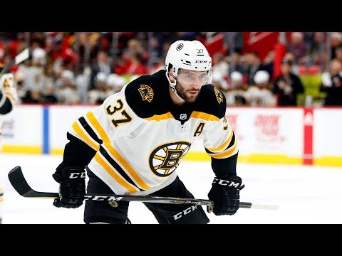 Patrice Bergeron injury: Boston Bruins plan to replace star center 'by committee,' hope he returns in two weeks
