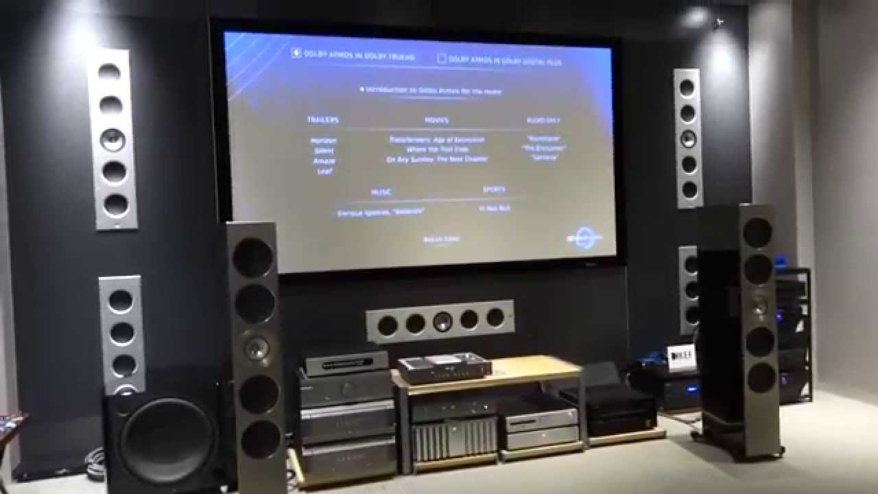 Kef New Flagship Thx Ci Series In Wall Speakers