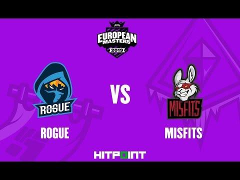 Rogue EC Vs Misfits Premier @ EU Masters 2019