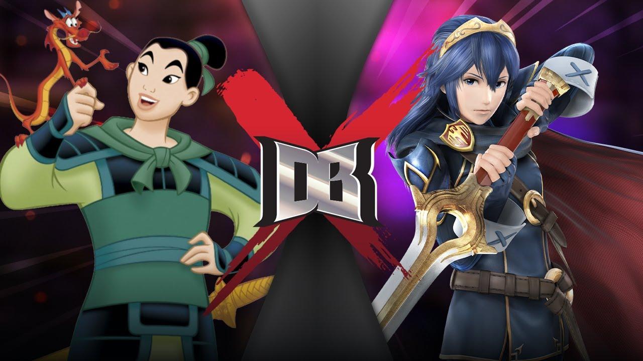 Mulan Vs Lucina Disney Vs Fire Emblem Dbx Death Battle Know Your Meme
