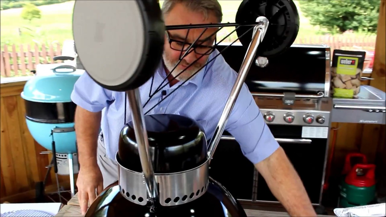 Weber Handleiding How To Build A Weber Master Touch Gbs 57cm Bbq