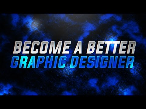 10 Tips To Become A Better Graphic Designer!