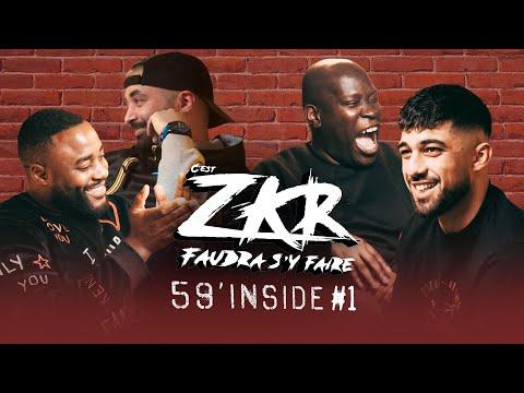 Youtube: 59′ Inside Zkr #1 (avec Gradur, Bouftou, Samitraille, Gibril, Gips…)