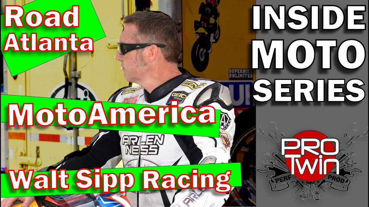 MotoAmerica - Road Atlanta 2020 - Walt Sipp Racing Interview - Kevin Baxter - Pro Twin Performance