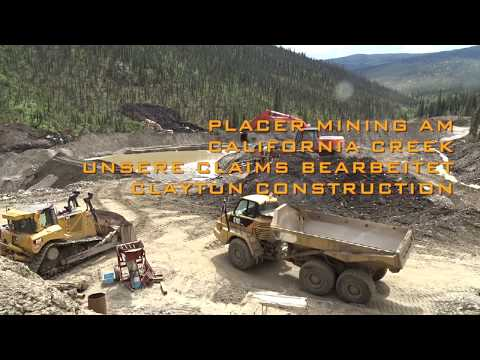 Placer Mining am California Creek