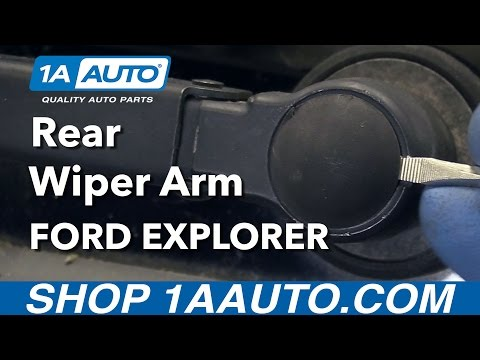 How to Replace Rear Wiper Arm 06-10 Ford Explorer