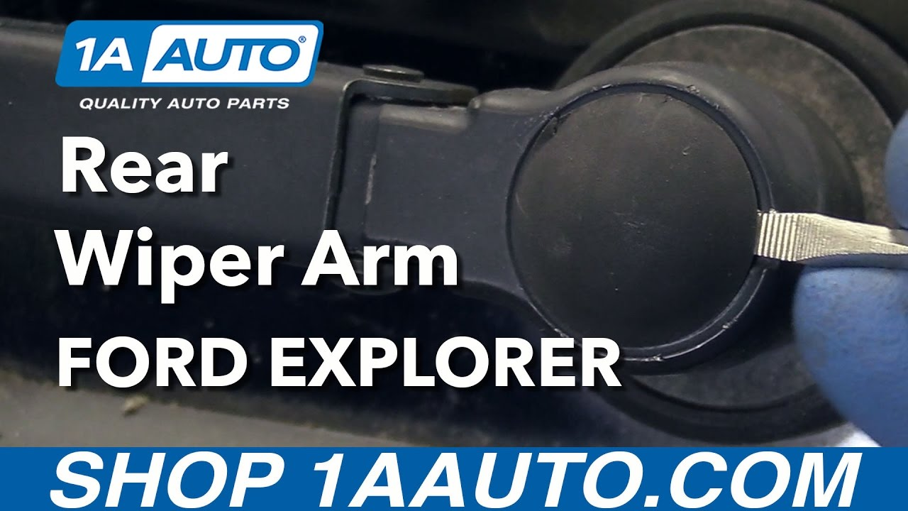 How To Remove And Reinstall Rear Wiper Arm 2006 Ford Explorer Youtube Windshield Wiring Diagram For 2002 Expedition