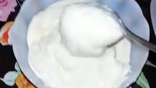 تحويل كوبين من الحليب الى قشطه /من تجهيزات رمضان