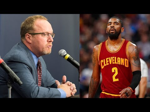 Former Cavs GM David Griffin Gives Inside Information on WHY Kyrie Irving Demanded Trade