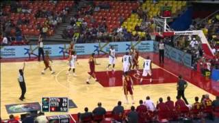 Angola Vs. F.Y.R. of Macedonia / 2012 FIBA Olympic Qualifying Tournament