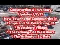 Westshore Village | The Exchange at Westshore | The Arlington St. Pete | Construction Update 1/2/17