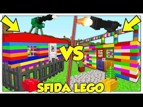 SFIDA DI COSTRUZIONE E DISTRUZIONE CON I LEGO! - Minecraft ITA