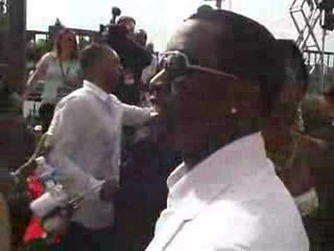 Diddy & Kim Loose Children On RED CARPET At BET Awards