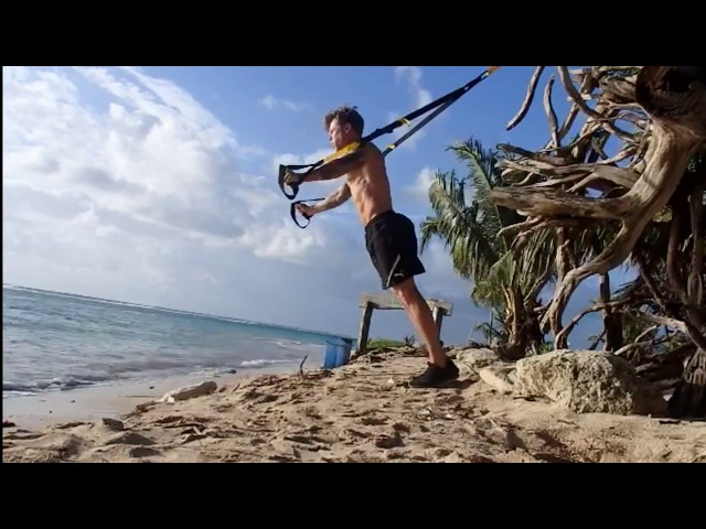 TRX chest workout for bodybuilding muscle growth