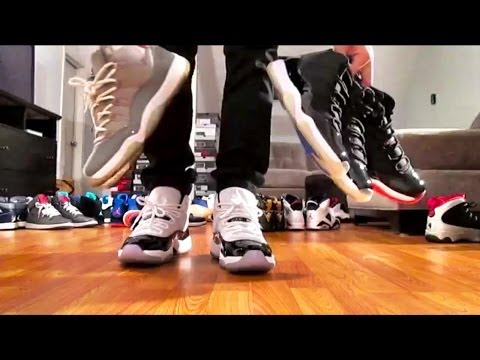 Air Jordan Retro Collection 1-14 ON FEET