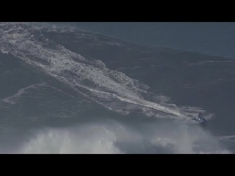 WATCH: Brazilian surfer sets womens world record for largest wave