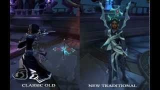 League of Legends - Karma Visual Upgrade (Old/New Model Comparison)