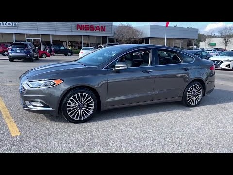 Benton Nissan Hoover >> 2018 Ford Fusion Birmingham, Hoover, Pelham, Chelsea, Trussville, AL P2511 - YouTube
