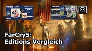 Far cry 5: Versionen/Editions vergleich, was soll ich kaufen?
