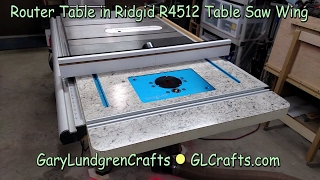 Rockinwoodwerks ridgid r4512 router table extension wing routertable in home depot ridgid r4512 tablesaw ep2017 07 keyboard keysfo Images