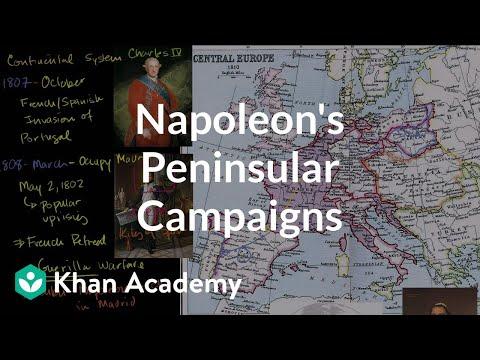 Napoleon's Peninsular Campaigns | World history | Khan Academy
