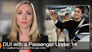 DUI With A Kid In The Car Laws - (Child Endangerment)