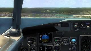 Boeing 737-300 | VASP Landing at Ilhéus (SBIL) | FSX Vídeos #3 720p*