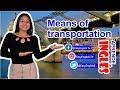 LECCIÓN 34: Means of transportation (Medios de Transporte)
