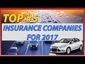 Top 5 insurance companies in 2017 explained