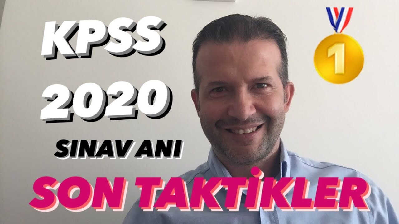 KPSS 2020 SINAV ANI SON TAKTİKLER 😃👍