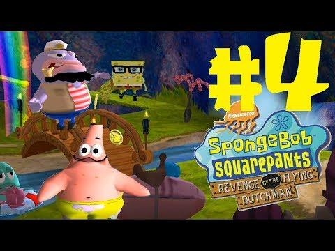 SpongeBob Revenge of the Flying Dutchman Level 4 (Jellyfish Fields) (720p)