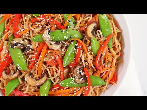 3 EASY Better-Than-Takeout Dinner Recipes   Veggie Chow Mein, Egg Rolls & Korean Beef Bowls