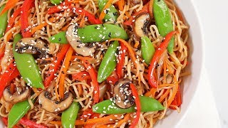 3 EASY Better-Than-Takeout Dinner Recipes | Veggie Chow Mein, Egg Rolls & Korean Beef Bowls