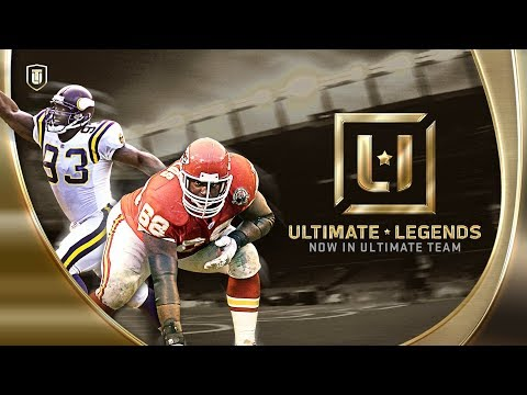 Madden 18 Ultimate Team  4 New Ultimate Legends John Randle,Will Shields, Joe Thomas And Andre Reed