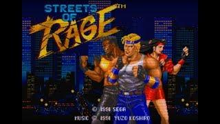 [RetroPlay] STREETS OF RAGE [MD] Le Mazzate Potenti della Giustizia (Sega 1991)