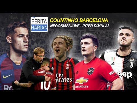 Countinho Hapus Bio Barcelona 😨 Negosiasi Icardi Dari Inter Ke Juventus Dimulai 🔥 Berita Sepakbola