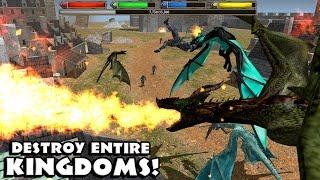 ??Ultimate Dragon Simulator-Destroy Kingdoms- Симулятор дракона- Уничтожить королевства-IOS/Android