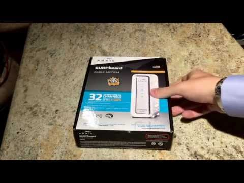 The Best Cable Modem Arris Surfboard SB6190 1.4 GBPS Unboxing & Overview 32 channels down and 8 up