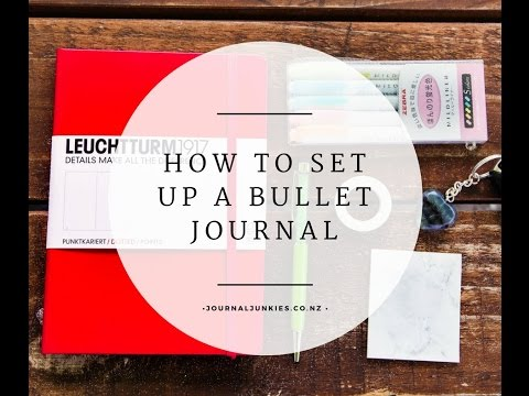 How to set up your first Bullet Journal | Journal Junkies