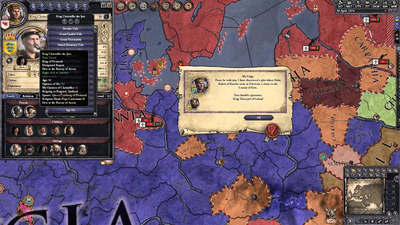Let's Play Crusader Kings 2! - Teil 81: Der neue Kanzler Glitterhoof
