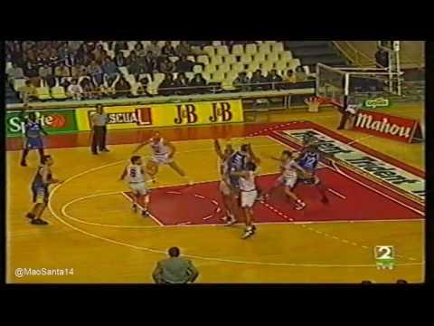 R. Madrid-Coren Ourense: Zona ACB. Tangana (4-Diciembre-1994)