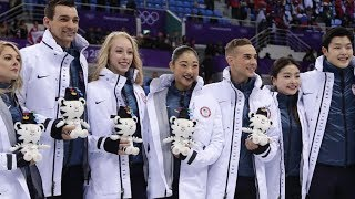 US figure skaters steal the show at Winter Olympics
