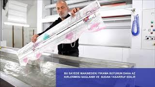 Stor ve Zebra Perde Yıkama & Temizleme Makinası