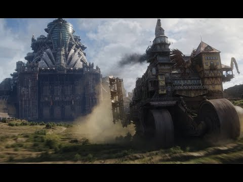 Mortal Engines: London Chase Scene - YouTube