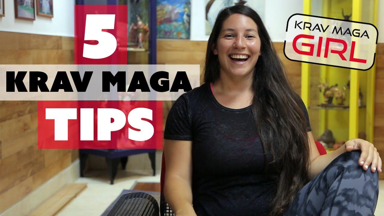 Krav Maga Girl 5 Tips For You To Know Youtube