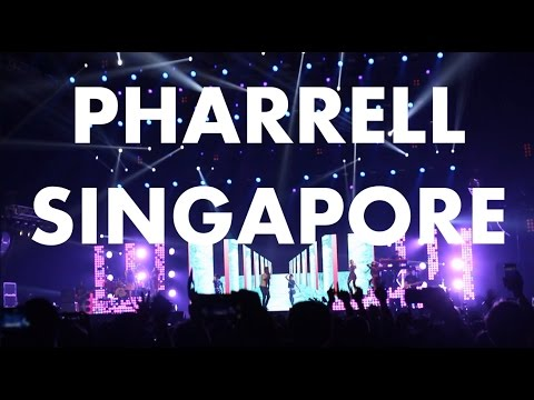 Pharrell Williams Live F1 Singapore Grand Prix 2015