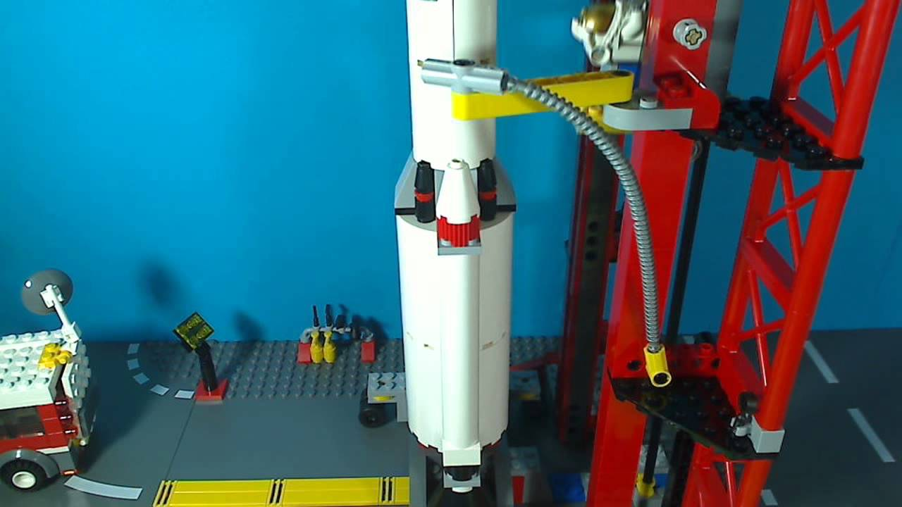 LEGO CITY SPACE CENTRE 3368 - YouTube